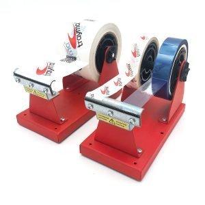 Dispensador doble de mesa para cintas adhesivas de hasta 75mm