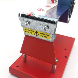 Dispensador de cinta adhesiva de mesa con peso para dos rollos