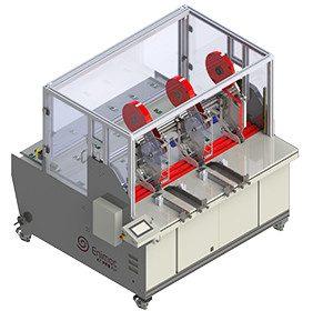 SISTEMA DE APLICACIÓN / APLICADOR DE CINTA AUTOMÁTICO DE FORMATO ANCHO ENIMAC X-TREME PRO RW